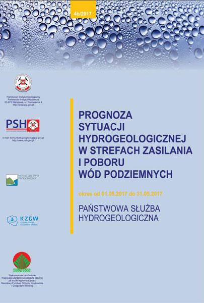 Prognoza sytuacji hydrogeologicznej w strefach zasilania i poboru wód podziemnych 01.05.2017- 31.05.2017