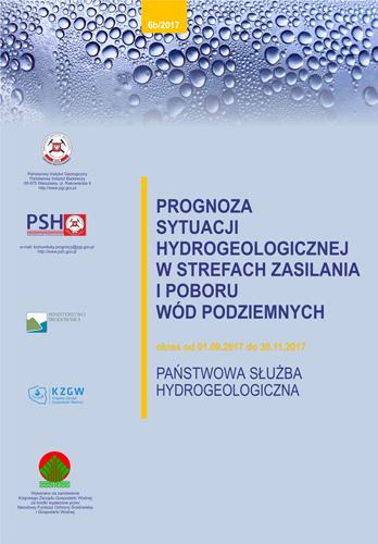 Prognoza sytuacji hydrogeologicznej w strefach zasilania i poboru wód podziemnych 01.09.2017- 31.11.2017