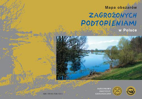 Mapa obszarów zagrożonych podtopieniami w Polsce