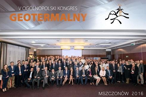 V Kongres Geotermalny Mszczonow 2016 foto zbiorowe