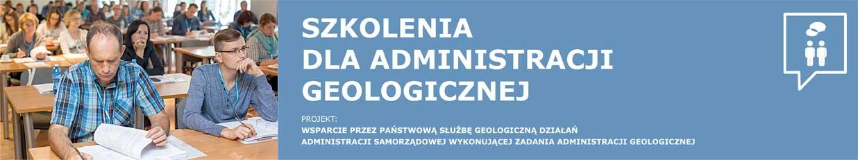 szkolenia dla administracji geologicznej