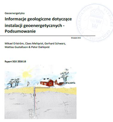 """Podręcznik """"Informacje geologiczne dotyczące instalacji geoenergetycznych - podsumowanie"""""""