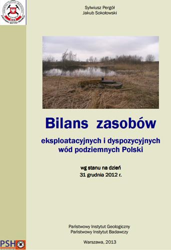 Bilans zasobów eksploatacyjnych wód podziemnych Polski 2012