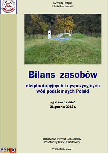 Bilans zasobów eksploatacyjnych wód podziemnych Polski 2013