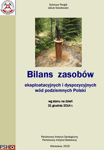Bilans zasobów eksploatacyjnych wód podziemnych Polski 2014