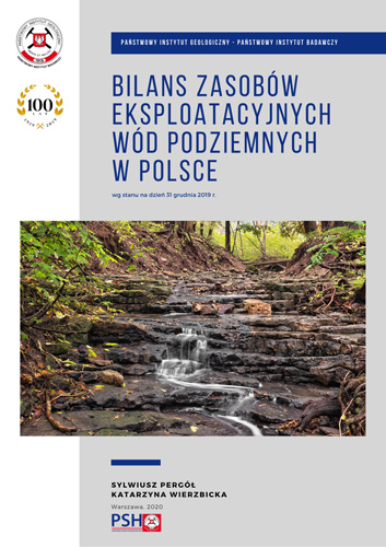 Bilans zasobów eksploatacyjnych wód podziemnych Polski wg stanu na dzień 31 grudnia 2019 r.