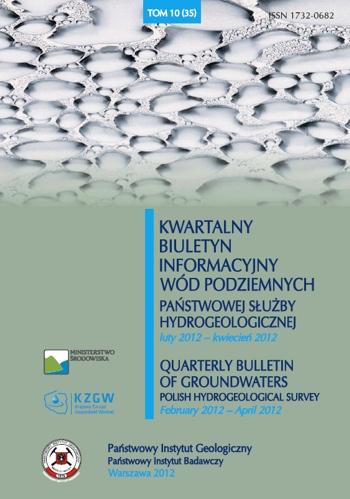Kwartalny Biuletyn Informacyjny Wód Podziemnych TOM 10(35) luty - kwiecień 2012