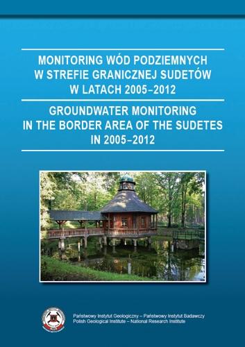 Monitoring wód podziemnych w strefie przygranicznej Sudetów w latach 2005-2012
