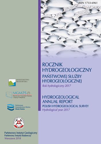 Rocznik hydrogeologiczny  Państwowej Służby Hydrogeologicznej 2017