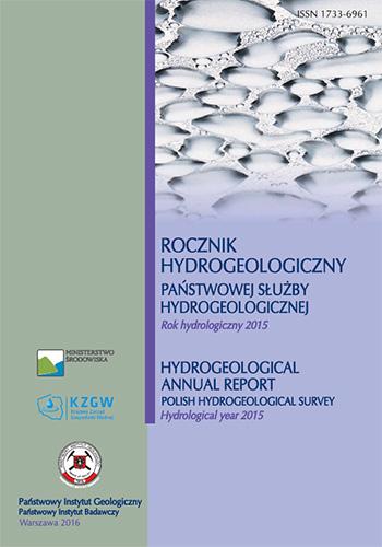 Rocznik hydrogeologiczny Państwowej Służby Hydrogeologicznej 2015