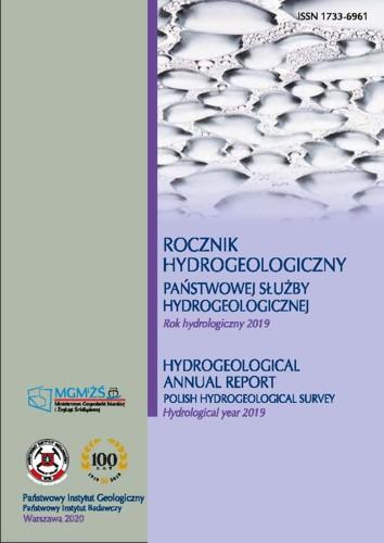 Rocznik hydrogeologiczny Państwowej Służby Hydrogeologicznej 2019